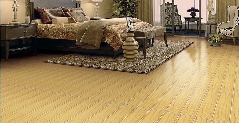 Wood Flooring Ceramic Tile Light Color Wooden For Living Room