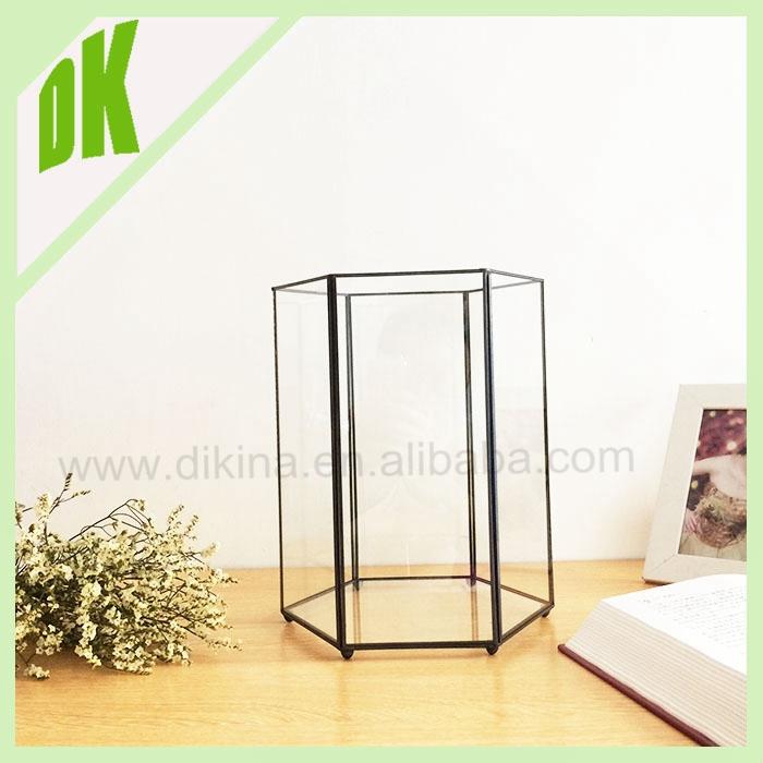 bronze double sided triangle glass frame hinged pendant living locket charm frame wedding glass long - Double Sided Glass Frame