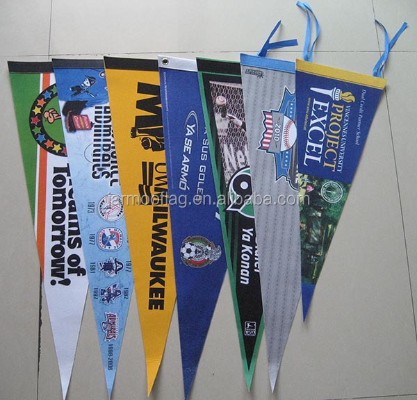 Small College Embroidery Personalized Baseball Felt Pennants