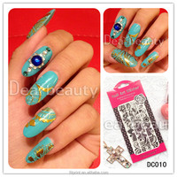 Online wholesale new sticker design for nail art lace nail sticker
