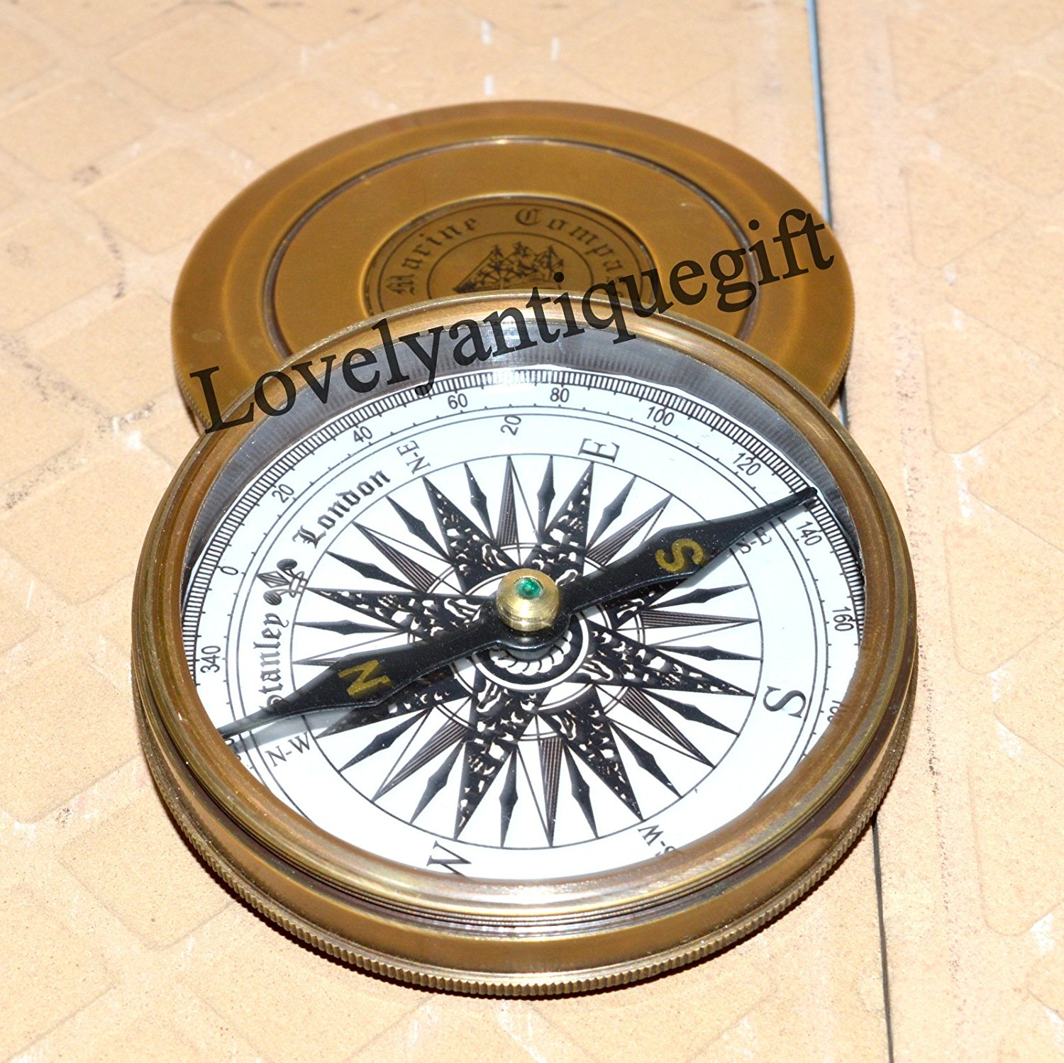 Vintage Maritime Style Marine Compass Poem Engraved Brass Compass Buy One Get One Free Maritime Antiques