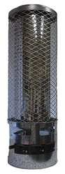 Dayton 6BY72 Gas Fired Heater, NG