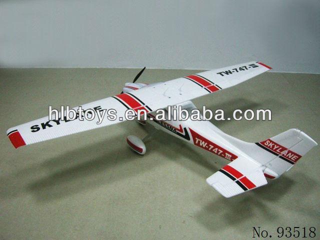 Tw 747-3 1.6m Epo Beginners Trainer Cessna Skylane Rc Plane/remote ...
