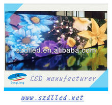 2012 China display SMD advertising P6/P4/P5 led indoor full color flexible led curtain display