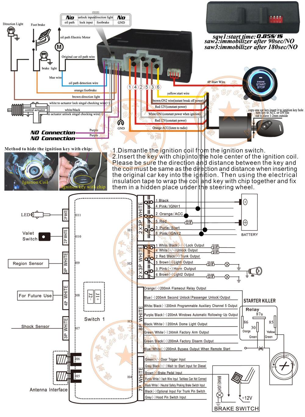 Remote Starter Keyless Entry Wiring Diagram Wiring Diagram