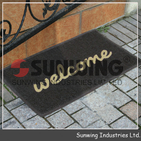 welcome home pvc coil mat door mat for sale