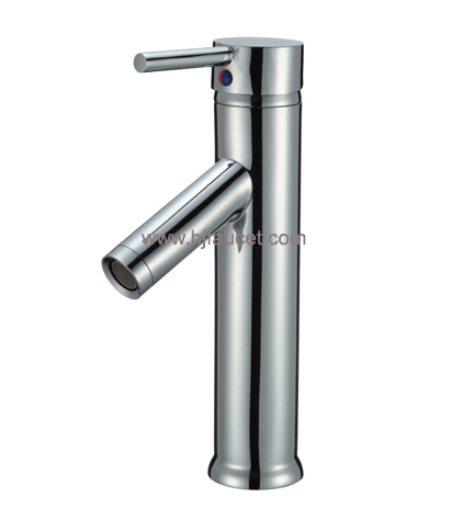 single lever faucet mixer tap wash basin tap models (81H11-CHR)
