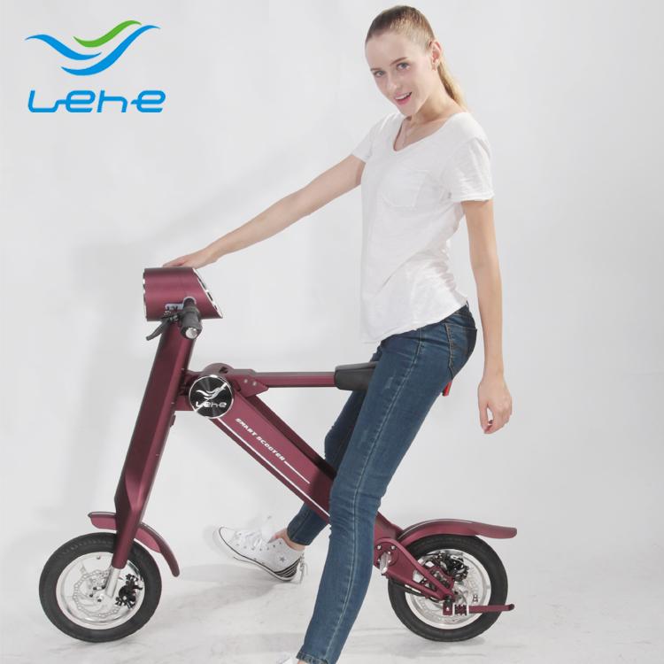 Xe điện gấp thời trang Lehe K2