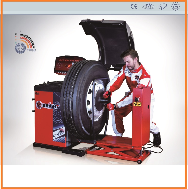 bright cb460b ce certifi lourd camion equilibreuse roue pneu machine quilibrer alignement. Black Bedroom Furniture Sets. Home Design Ideas