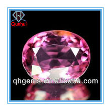 1.07 Ct. Clean Oval shaped Natural Reddish Pink cubic zircon