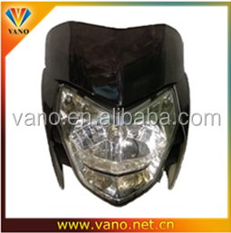 motorcycle Rouser 135 headlight assembly