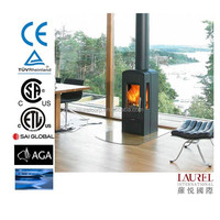 cold rolled steel cast iron wood burning stove for sale