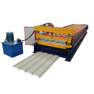 High rib roofing panel roll forming machine for sale