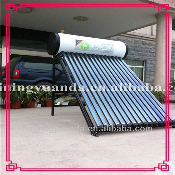 150 liter solar water heater (With Aluminium alloy frame) 100% energy efficient