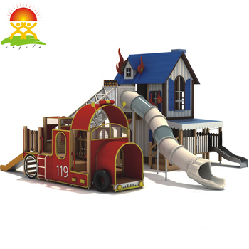 Children playground equipment outdoor slide