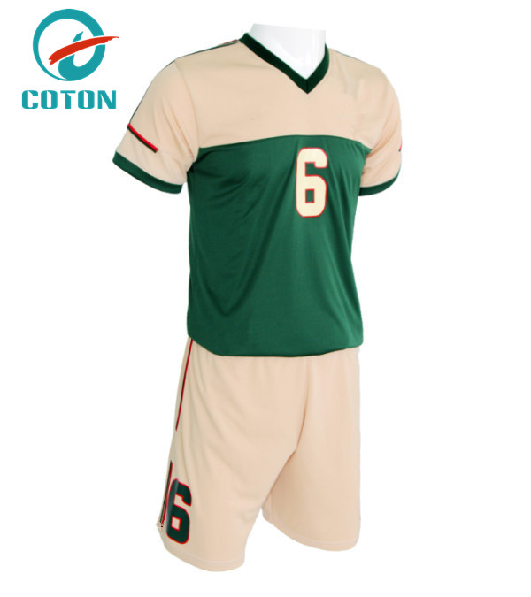 Best quality youth wholesale training football unifrom soccer kit