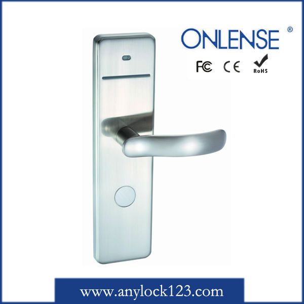 Onlense electronic IC card door lock in guangzhou with 14 year's history