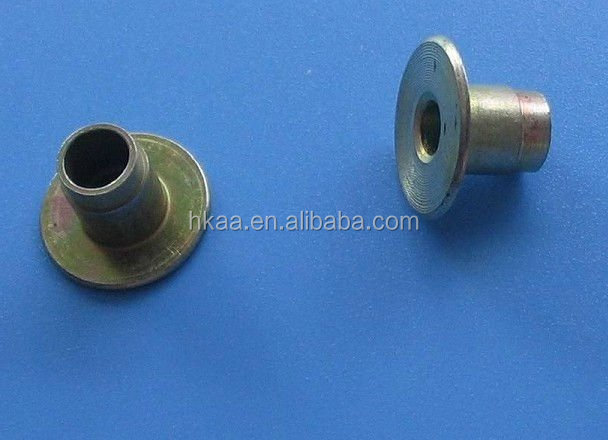 metal flat head metal push rivet