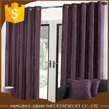 2018 wholesale vintage faux velvet blackout curtain