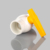 yellow handle india market upvc ball valve  pvc compact ball valve with abs handle