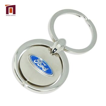 Free Custom Pattern Metal Keychain Custom Logo Customized Truck Holder Car Key Chain