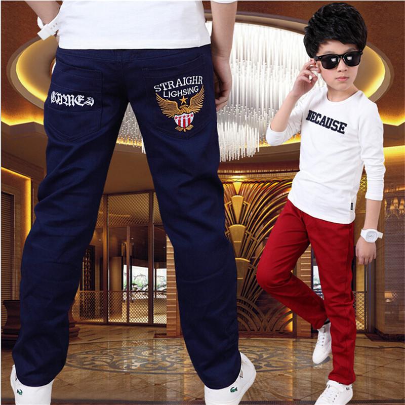 Boy pants spring models big virgin Korean children s casual pants boys trousers 2016 new children