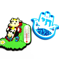 we provide soft pvc rubber Fridge Magnet with thermometer as business gifts/souvenir