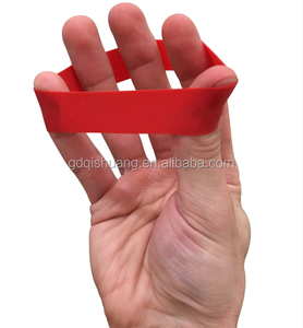 Factory direct supply finger stretcher mini latex band hand exerciser