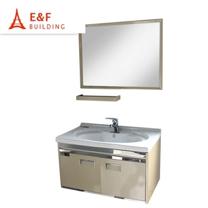 Wall Mounted Stainless Steel Bathroom Vanity Supplieranufacturers At Alibaba