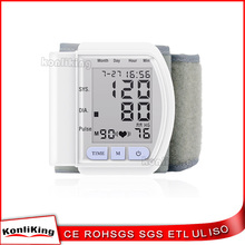 Profitable 2017 Electronic Home use Automatical wrist blood pressure monitor accuracy
