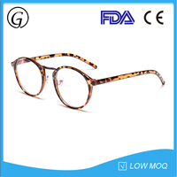 Cheap plastic optical eyeglasses frames with custom logo