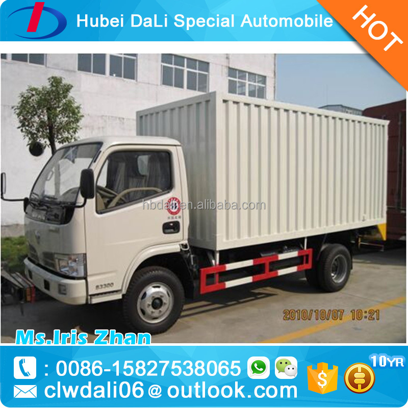 JAC 3 tons box body truck box truck for sale