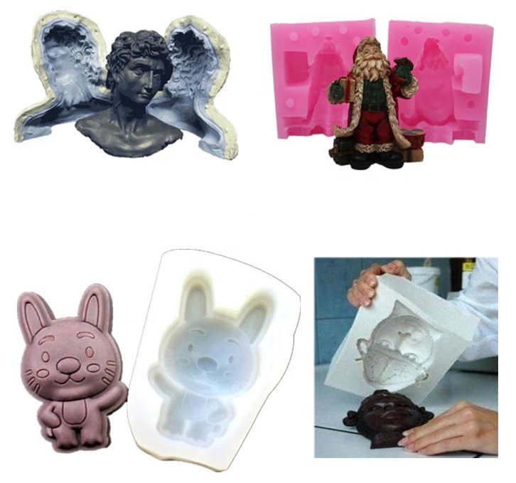 Factory wholesale hot selling durable liquid silicone rubber to make crafts silicone molds