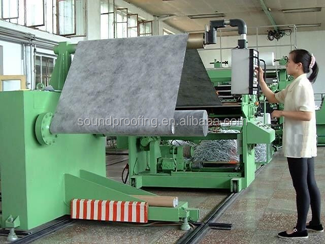 Sound Barrier Materials Fireproof Mass Loaded Vinyl