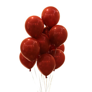 12 inches thick ruby red balloon wedding room decorates ins marriage proposal venue layout party supplies balloon