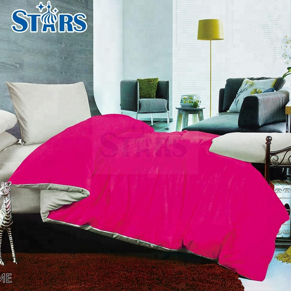 GS-FM-03 brand name 100% polyester Microfiber bedsheet brushed fabric
