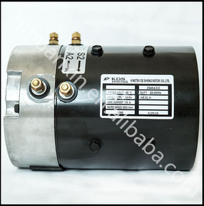 3000rpm 4kw 110A 48V KDS DC ELECTRIC VEHICLES MOTOR