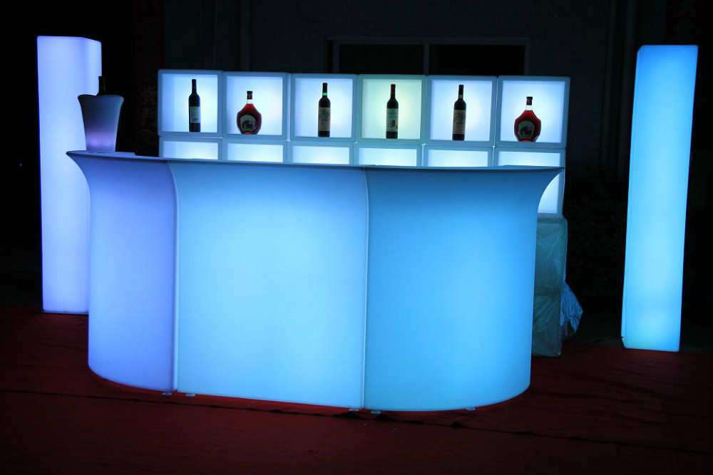 Wholesale Outdoor Long Led Night Club Bar Counter Design,Cordless ...
