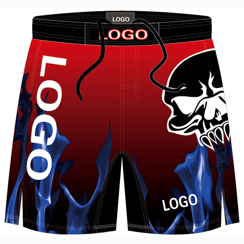 Hot Custom Printed Fight MMA Training Shorts Kick Boxing