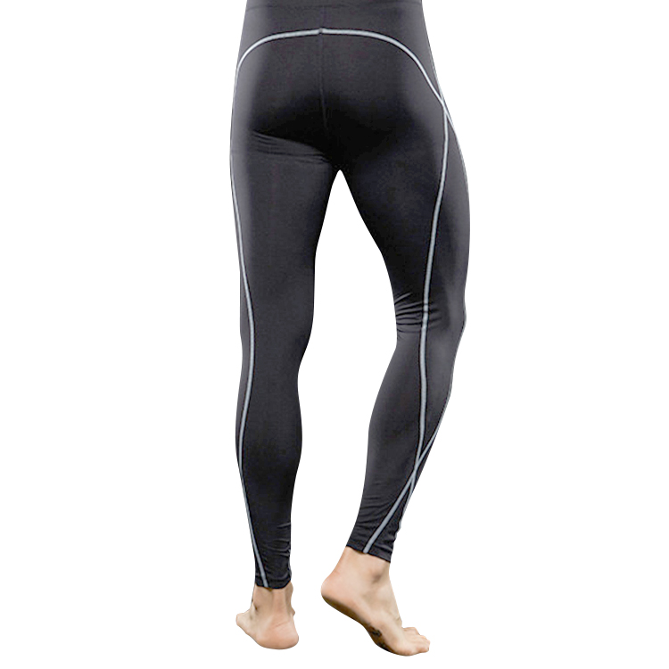 LANBAOSI 2 in 1 Running Shorts Men Sports Compression Pants with Inner Tights