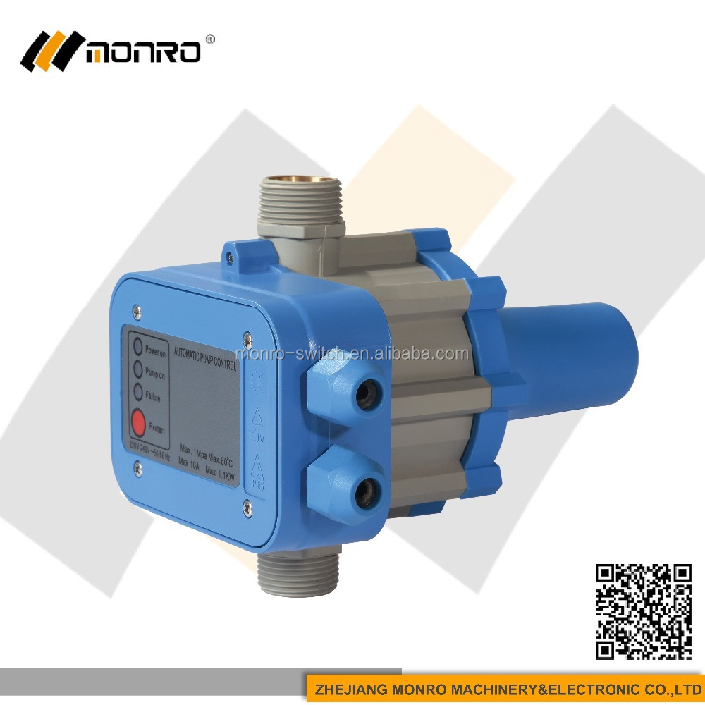 0101 zhejiang monro manufacturers pressure electrical switch for submer water pump EPC-1