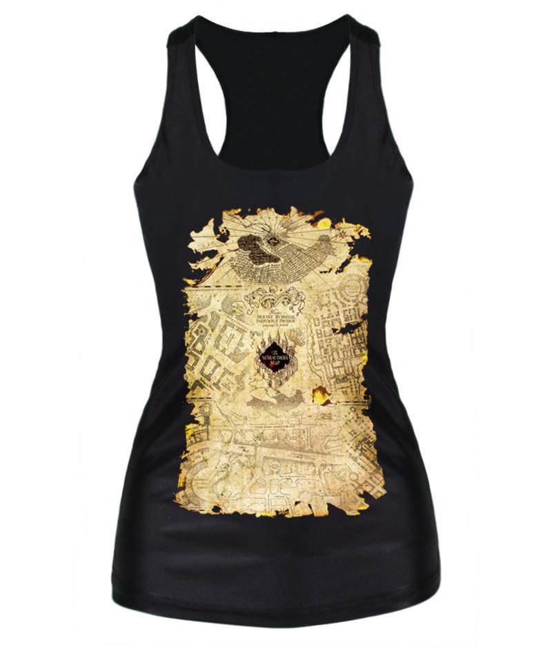 cf849cbb7c9 Alisister Newest harajuku style women's 3d Tank top summer print map girls  sleeveless shirt Vest religion Crop Top clothing
