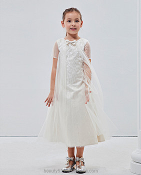 fcf1d0e02 Puffy niña Vestido de manga corta marca famosa ropa de bebé precio al por  ...