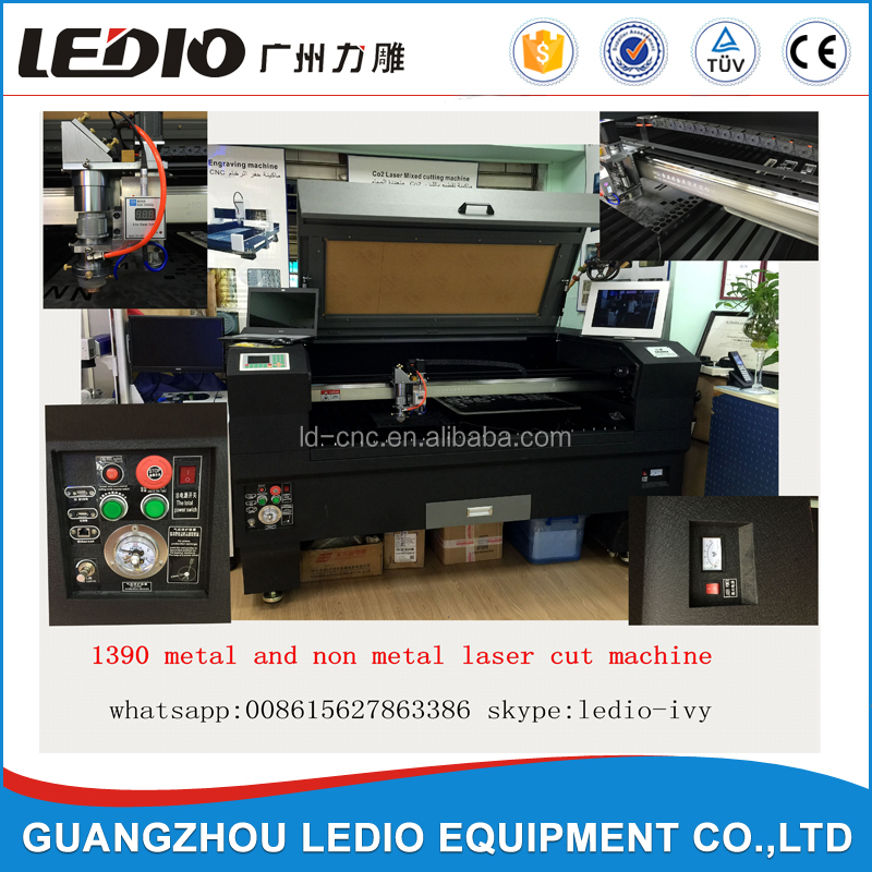 High Precision Metal Laser Cutting Machine Cut Stainless Steel Redsail RECI S6 1325C with Servo Motor
