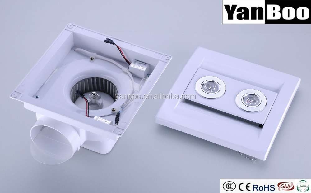 12 Inch Ceiling Mounted Bathroom Kitchen Exhaust Fan Ventilator ...
