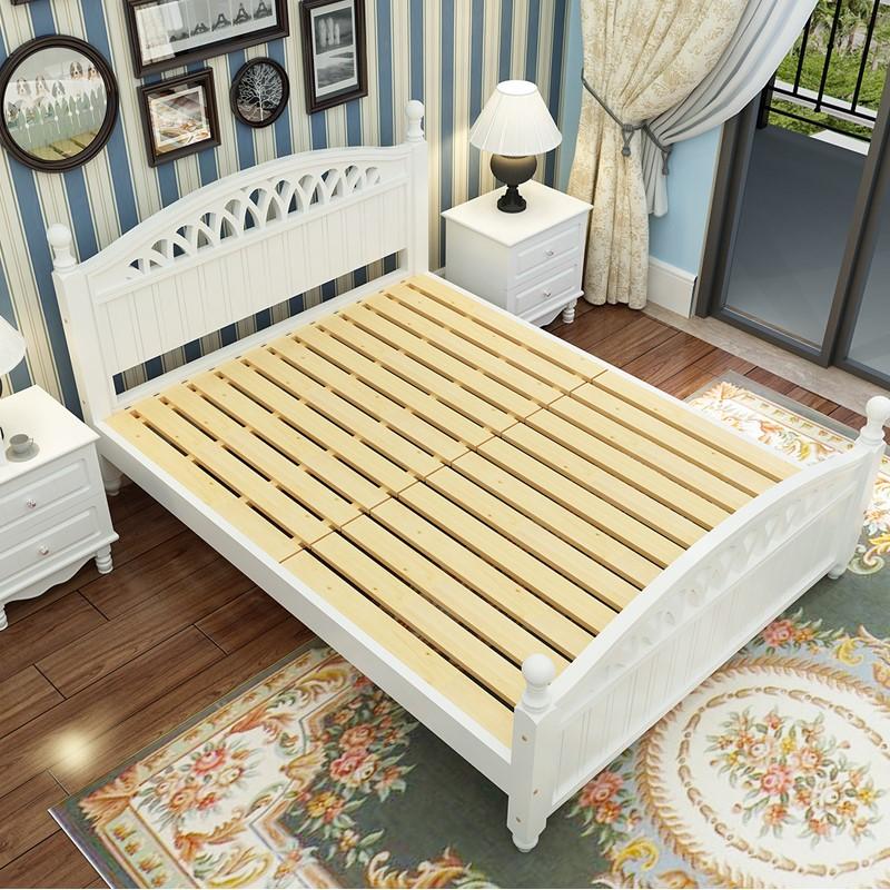 SG0036 últimas muebles de dormitorio cama doble diseños en madera ...