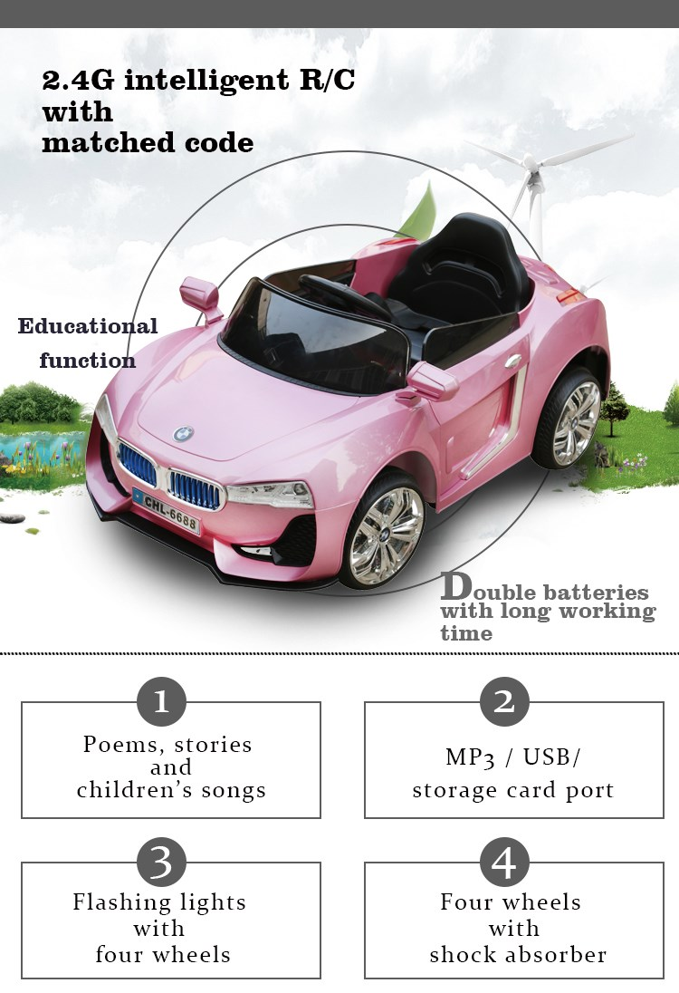 New Style Chirldren Manual Ride On Car Classic Cars Ride On Toys