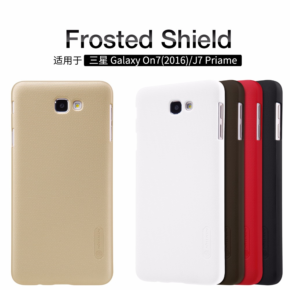 Nillkin Frosted Shield Plastic Hard cover Mobile Phone case for Samsung Galaxy J7 Prime On7