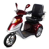Powerful Rubber Wheels Electric Tricycle Scooter