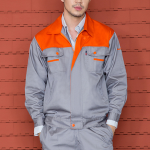 Work Clothes For Men Construction Red Color Work Uniform